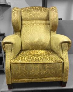 Vanhan nojatuolin uudelleenverhoilu | Sisustusverhoomo Wanhat Toolit - Pori